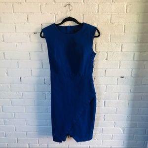 Banana Republic Size 10 Cobalt Sheath Dress